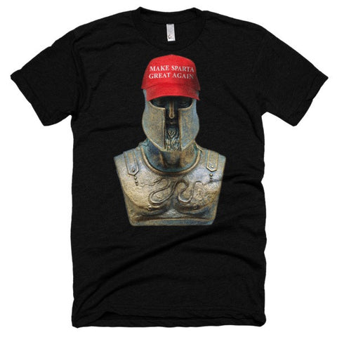 Make Sparta Great Again ~ Leonidas Short sleeve soft t-shirt