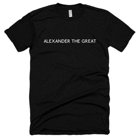 Alexander the Great Short sleeve soft t-shirt