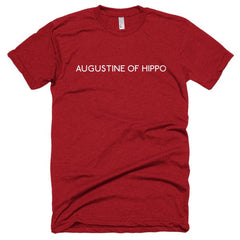 Augustine of Hippo Short sleeve soft t-shirt