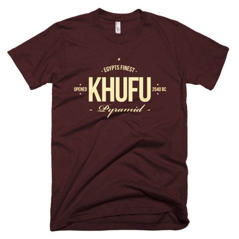 Khufu - Egypts Finest Pyramid - Short sleeve men's t-shirt