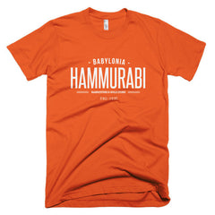 Hammurabi Barristers & Solicitors Short sleeve men's t-shirt
