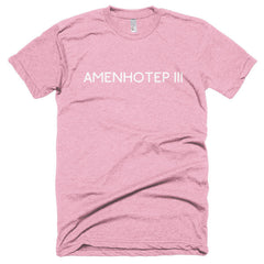 Amenhotep III Short sleeve soft t-shirt