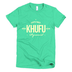 Khufu, Egypt's Finest Pyramid - Short sleeve women's t-shirt