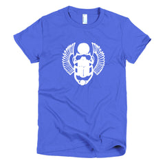 Scarab Wings Short sleeve women's t-shirt
