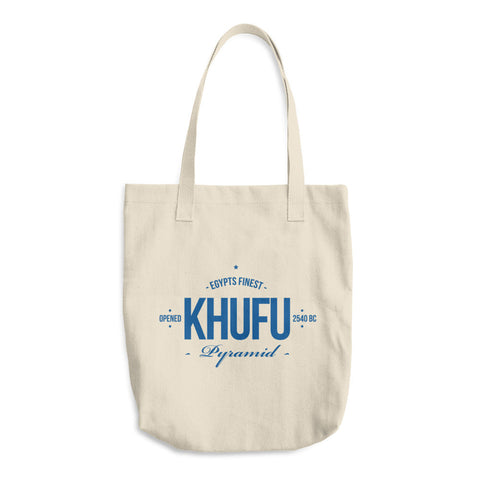 Egypt's Finest Pyramid - Khufu - Cotton Tote Bag