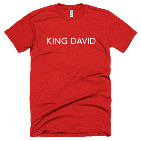 King David Short sleeve soft t-shirt