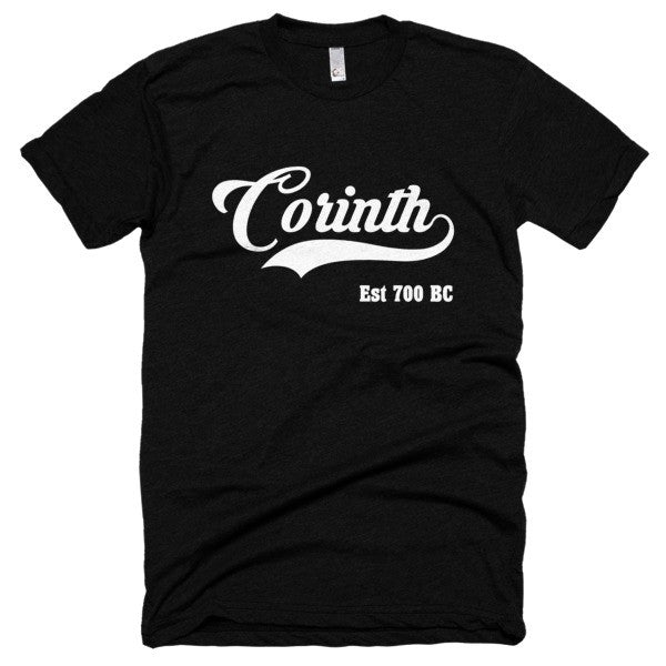 Corinth Est 700 BC Short sleeve soft t-shirt