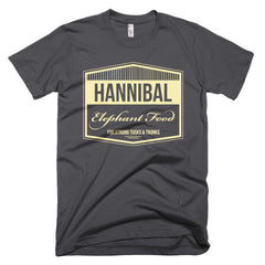 Hannibal Elephant Food Short sleeve men's t-shirt