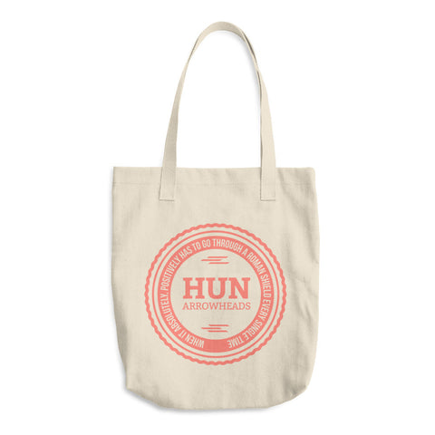 Hun Arrowheads - Cotton Tote Bag