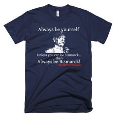 When Diplomacy Fails Podcast Bismarck Short sleeve men's t-shirt