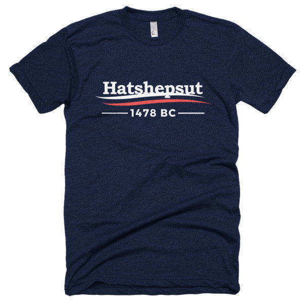 HATSHEPSUT 1478 BC Short sleeve soft t-shirt