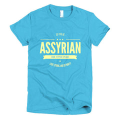 Assyrian Iron Tipped Spears - Short sleeve women's t-shirt