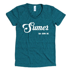 Sumer Women's short sleeve soft t-shirt