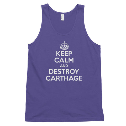 Keep Calm and Destroy Carthage - Classic tank top (unisex)