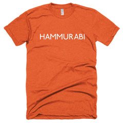 Hammurabi Short sleeve soft t-shirt