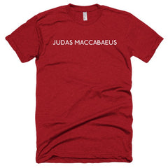 Judas Maccabaeus Short sleeve soft t-shirt