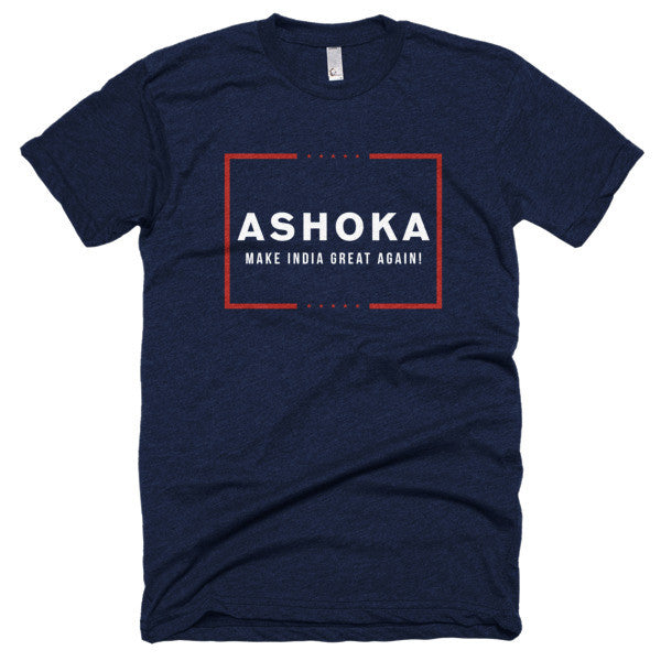 ASHOKA Make India Great Again! Short sleeve soft t-shirt