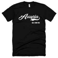 Assyria Est 2500 BC Short sleeve soft t-shirt