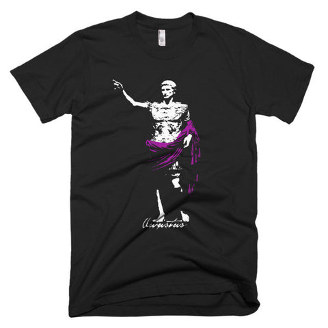 Augustus Purple Short sleeve men's t-shirt