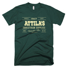 Crazy Attila's Short sleeve men's t-shirt