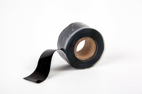 "Black 2"" x 36' Self-Fusing Silicone Tape"