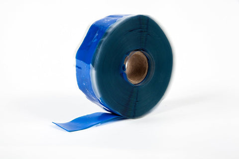 "Blue 1"" x 12' Self-Fusing Silicone Tape"