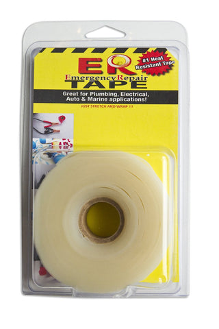 "Clear 1"" x 36' Self-Bonding Silicone Tape"