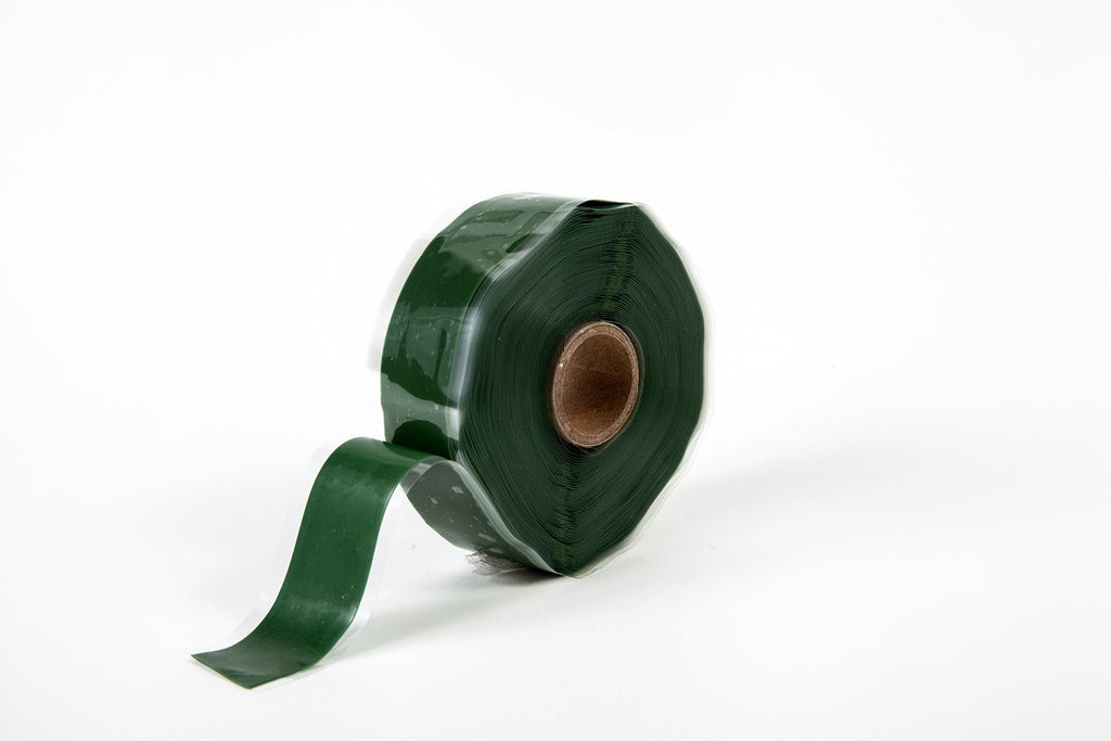 "Green 1"" x 36' Self-Fusing Silicone Tape"