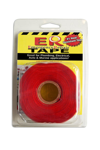 "Red 1"" x 36' Self-Fusing Silicone Tape"