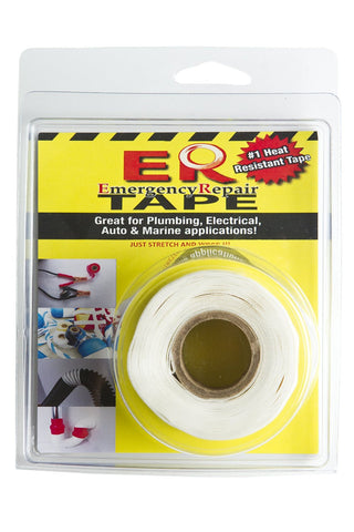 "White 1"" x 12' Self-Fusing Silicone Tape"