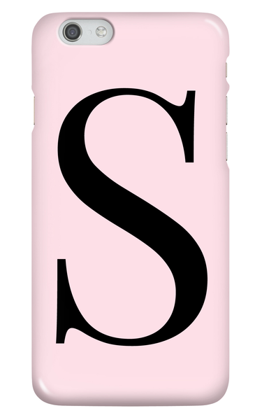 Personalised Pink Phone Case