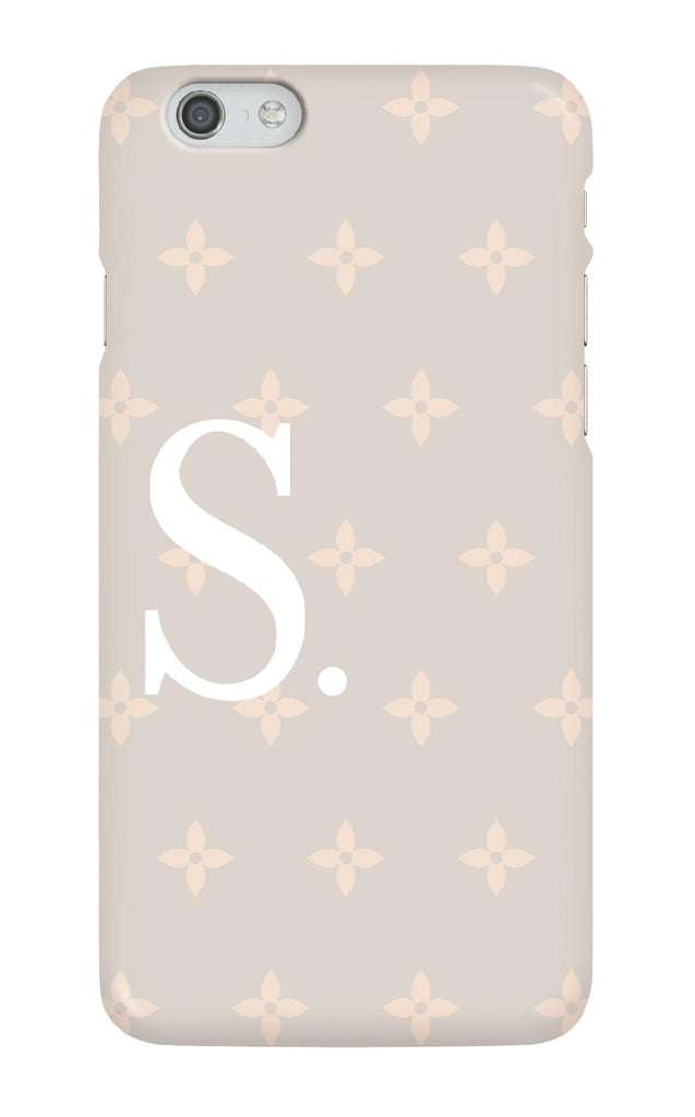Personalised Nude Flower Case