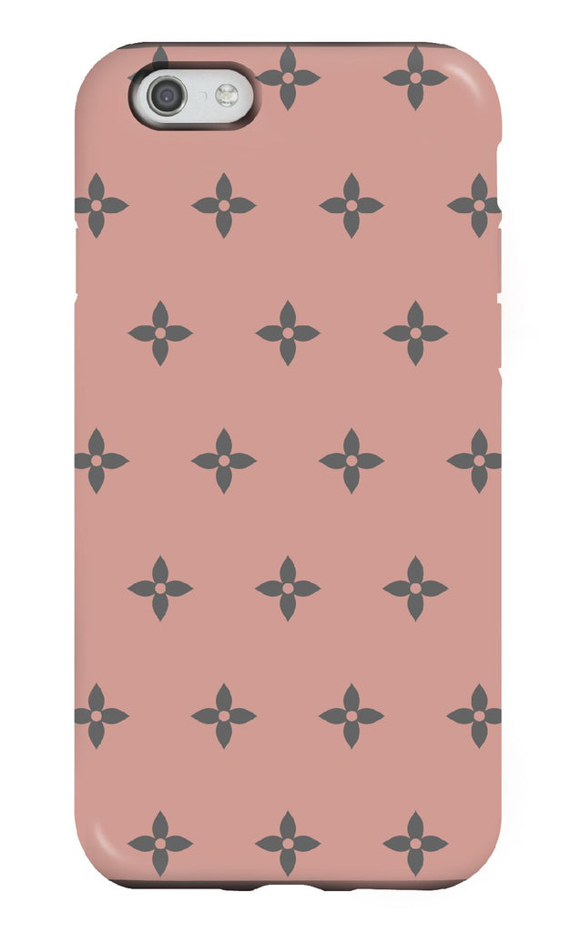 Personalised Blush Flower Tough Phone case