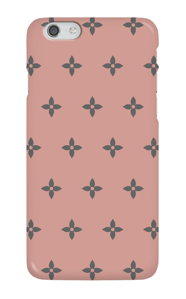 Personalised Blush Flower Swatch Phone case