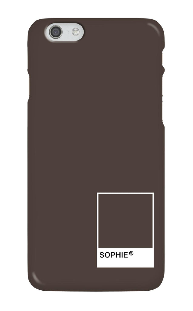Personalised Chocolate Swatch Phone case