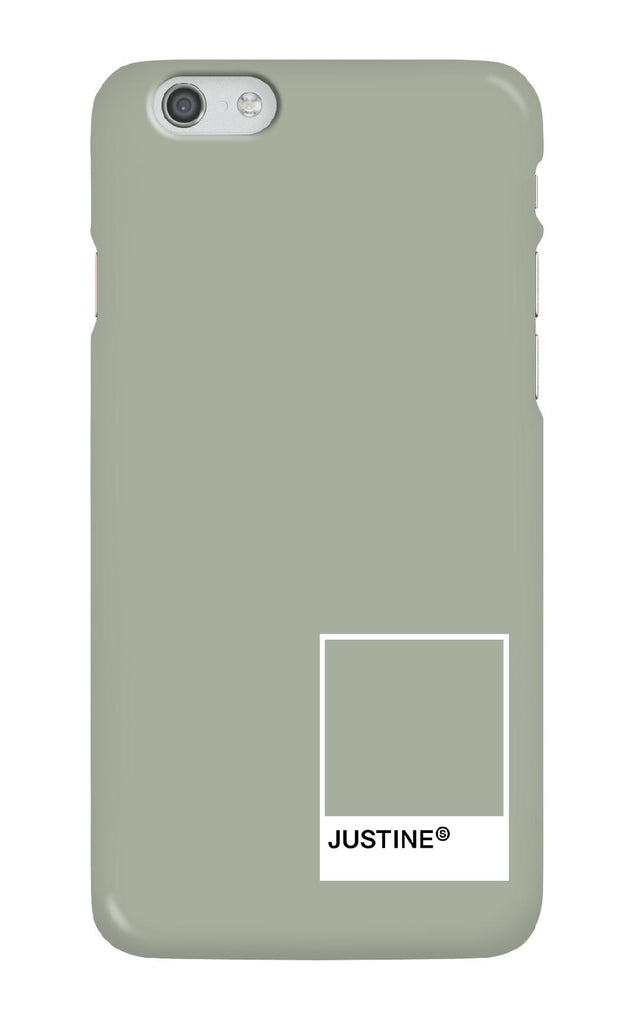 Personalised Forest Sage Swatch Phone case