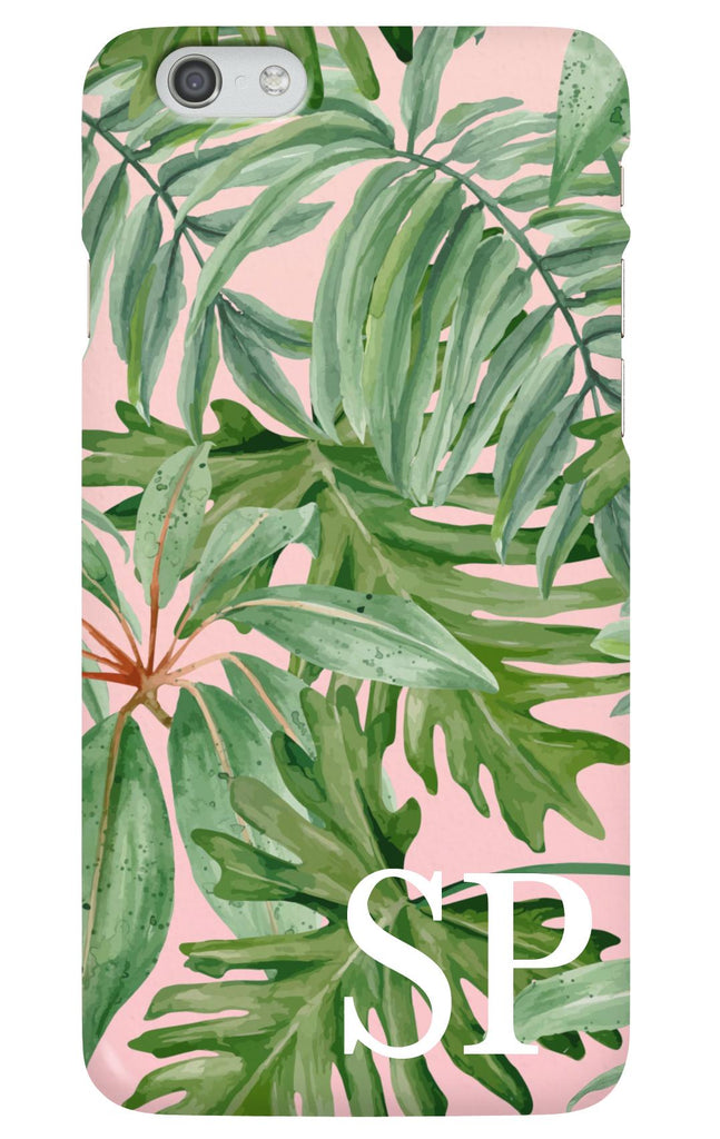 Personalised Leaf Phone Case