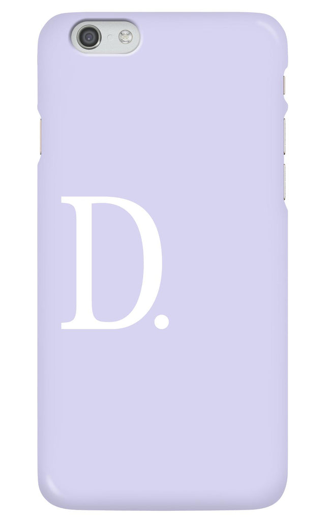 Personalised Lilac Phone case