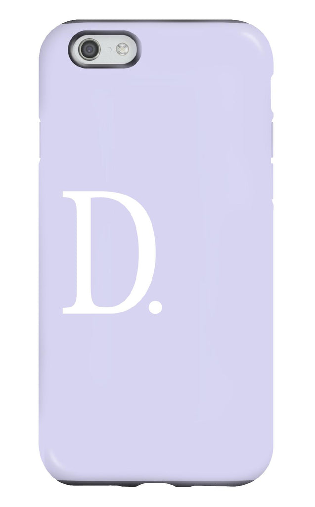 Personalised Lilac Tough Phone Case