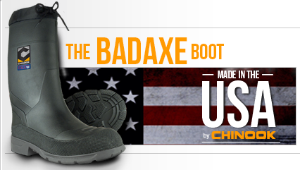 chinook badaxe boots