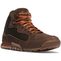 Danner SKYRIDGE 4.5 inch Dark Earth Hiking Boots two tone brown color with orange laces