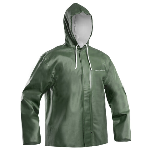 Grundens Clipper 82 Hooded Jacket for commerical fishing building road construction timber harvest agriculture mining shipyards forestry utilities