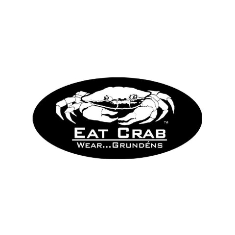 Grundens Eat Crab Sticker