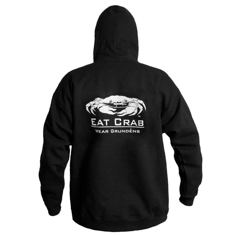 Grundens Eat Crab Sweatshirt Black/White Pink/Black