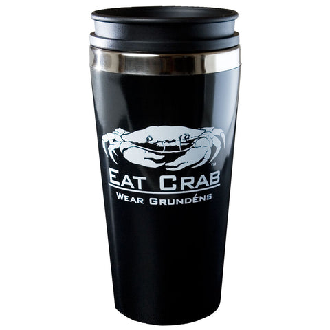 Grundens Eat Crab Travel Mug