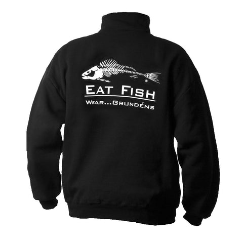 Grundens Eat Crab,Eat Fish,East Squid Sweatshirt