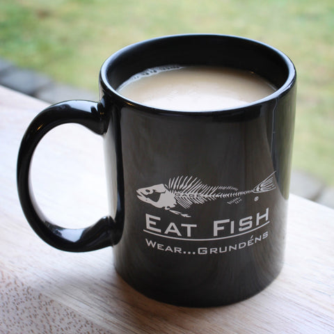 Grundens Eat Fish - Eat Crab - Eat Lobster Mug