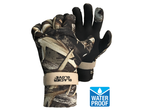 Glacier Gloves Pro Waterfowler Camo Gloves