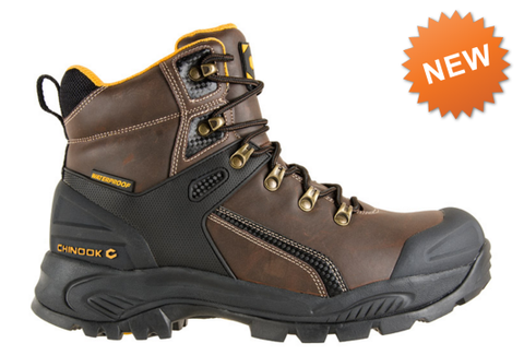 CHINOOK HAMMERHEAD STEEL TOE WATERPROOF BOOTS