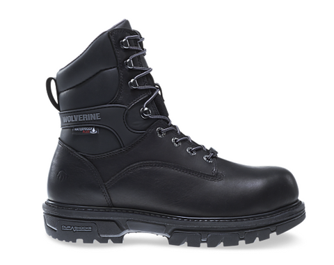 "Wolverine NATION DURASHOCKS CARBONMAX 8"" BOOT Black"